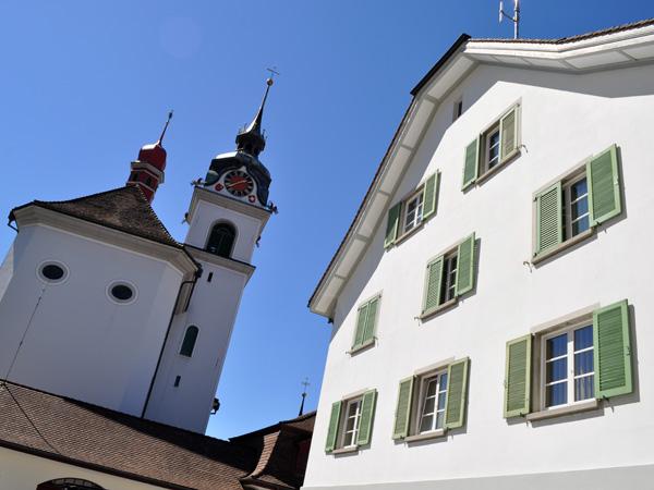 Küssnacht am Rigi, Vierwaldstättersee (Lake Lucerne), Central Switzerland, August 2012.
