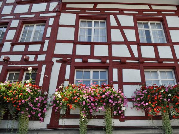 Sankt Gallen, Eastern Switzerland, September 2012.