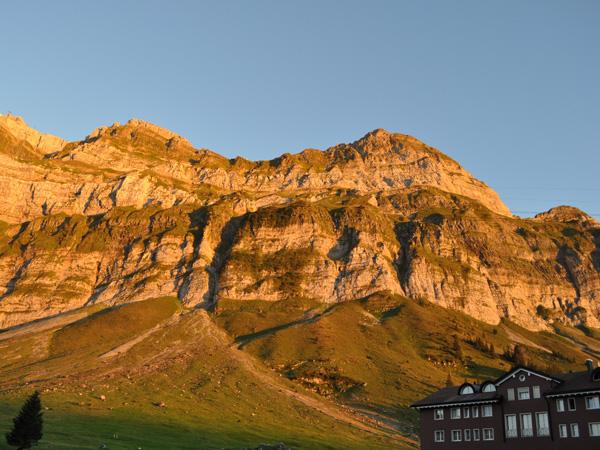 Säntis, Alpstein Massif, Eastern Switzerland, September 2012.