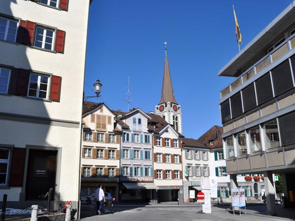 Altstätten, Rhine Valley, Eastern Switzerland, September 2012.