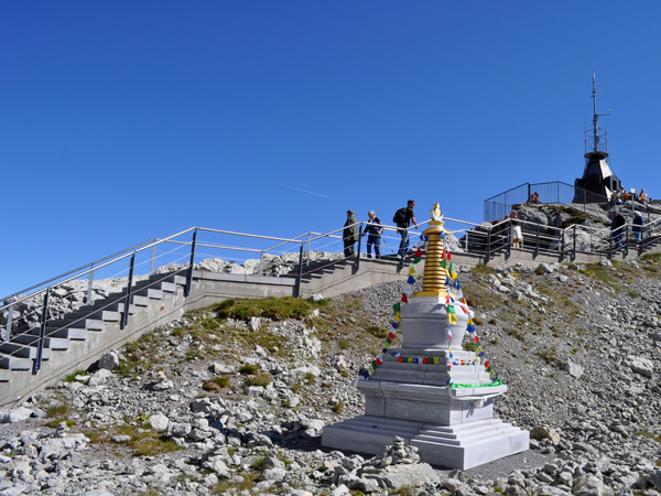 Säntis, Alpstein Massif, Eastern Switzerland, September 2012.