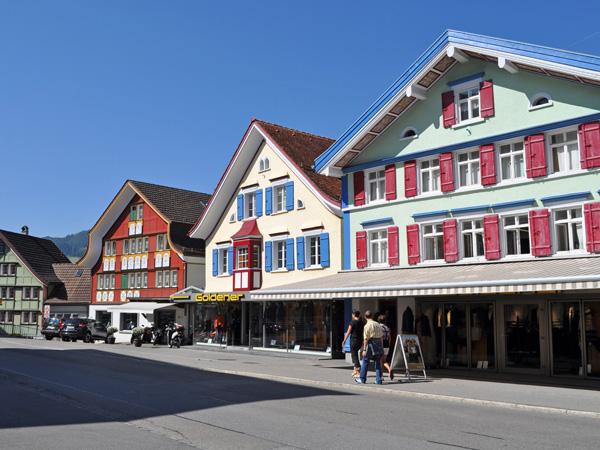 Appenzell, Eastern Switzerland, September 2012.
