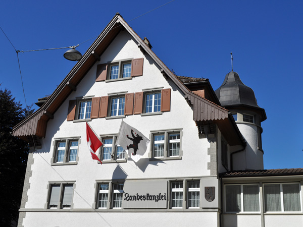 Appenzell, Eastern Switzerland, September 2012.