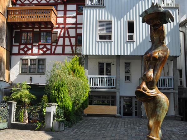 Arbon, Lake Constance (Bodensee), Eastern Switzerland, September 2012.