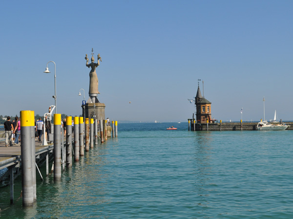 Konstanz, Lake Constance (Bodensee), Germany, September 2012.