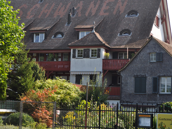 Steckborn, Lake Constance (Bodensee), Eastern Switzerland, September 2012.