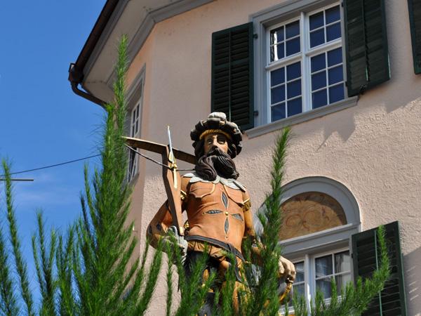 Schaffhausen, Northern Switzerland, September 2012.