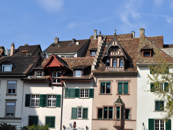 Schaffhausen, Northern Switzerland, September 2012.