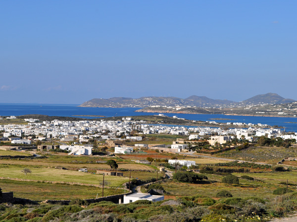 Paysage d'Antiparos, Cyclades, avril 2013.