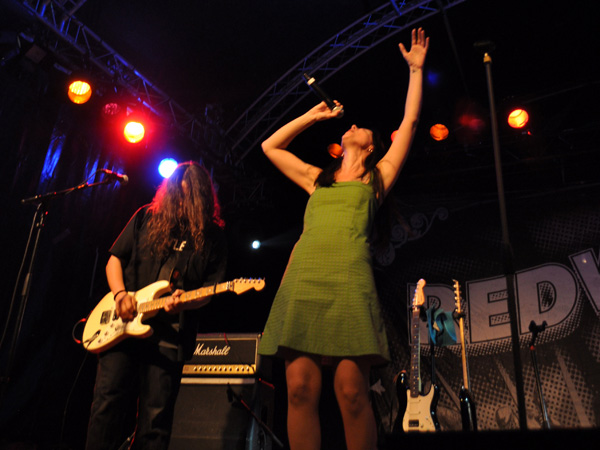 Montreux Jazz Festival 2013: Redwood (CH - Rock), July 5, Music in the Park.