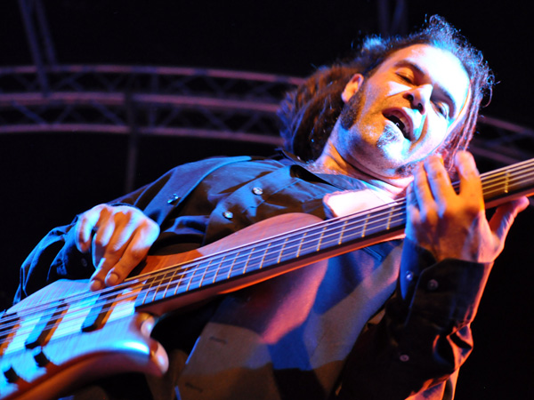 Montreux Jazz Festival 2013: Booost (CH - Reggae - ex-Moonraisers), July 6, Music in the Park.