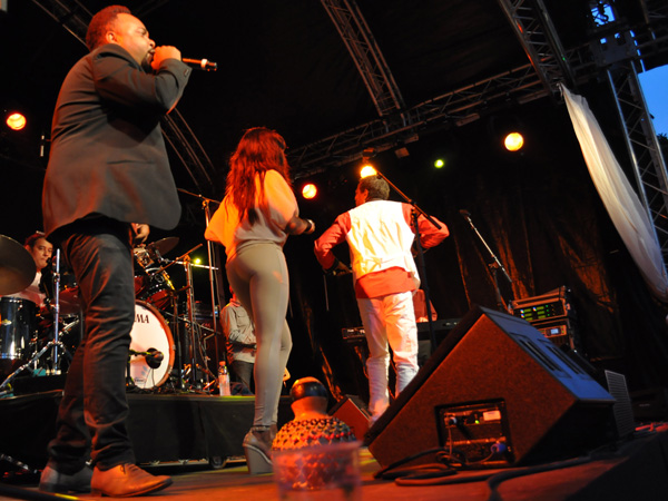 Montreux Jazz Festival 2013: Tempo Forte (F/Cuba - Salsa), July 6, Music in the Park.
