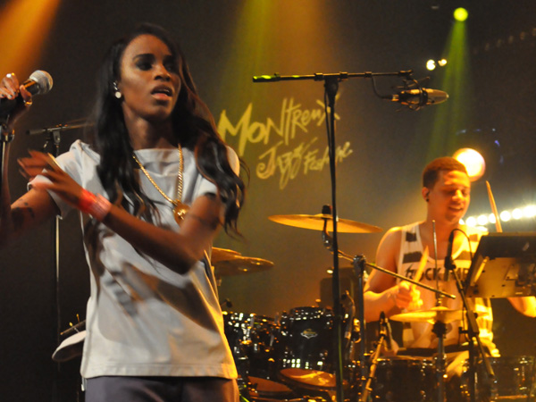 Montreux Jazz Festival 2013: Angel Haze (USA - Hip-Hop), July 7, Montreux Jazz Lab.