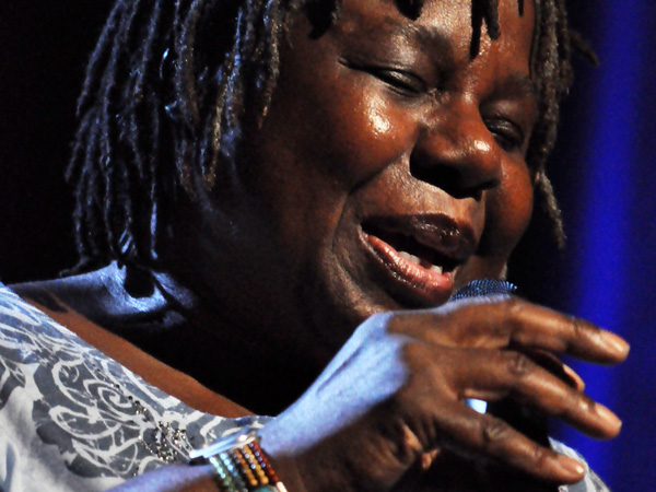 Montreux Jazz Festival 2013: Randy Crawford & Joe Sample Trio (USA - Jazz), July 8, Auditorium Stravinski.