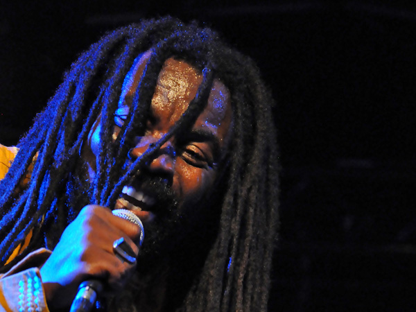 Montreux Jazz Festival 2013: Rocky Dawuni (Ghana - Reggae), July 9, Music in the Park.