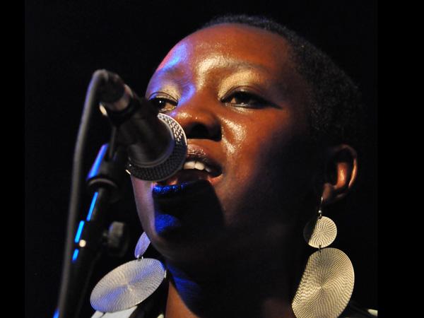 Montreux Jazz Festival 2013: Rocky Dawuni (Ghana - Reggae), July 9, Music in the Park.