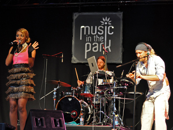 Montreux Jazz Festival 2013: Alice Francis (Germany - Electro Swing), July 11, Music in the Park.