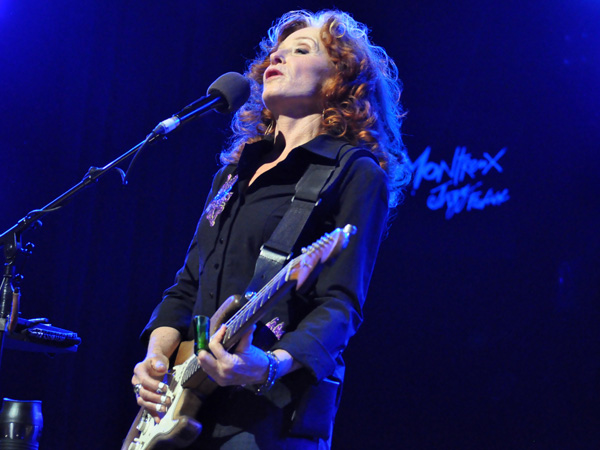 Montreux Jazz Festival 2013: Bonnie Raitt (USA - Blues), July 11, Auditorium Stravinski.