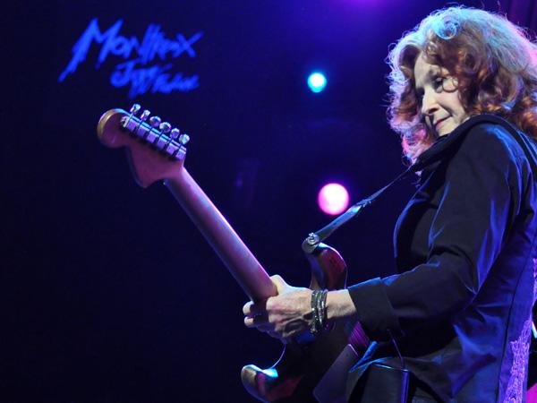 Montreux Jazz Festival 2013: Bonnie Raitt (USA - Blues), July 11, Auditorium Stravinski.