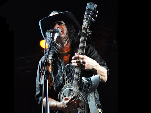 Montreux Jazz Festival 2013: Eric Sardinas & Big Motor (USA - Blues-Rock), July 11, Music in the Park.