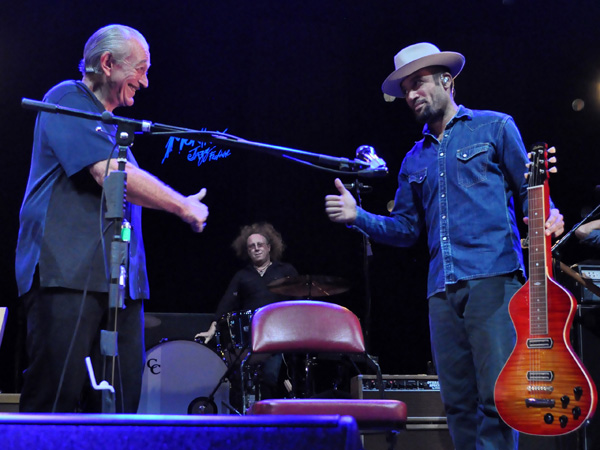Montreux Jazz Festival 2013: Ben Harper & Charlie Musselwhite (USA - Blues), July 11, Auditorium Stravinski.
