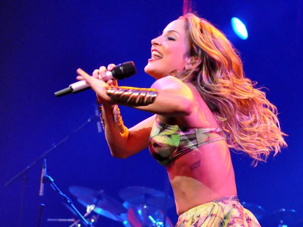 Montreux Jazz Festival 2013: Claudia Leitte (Brasil), July 12, Auditorium Stravinski.