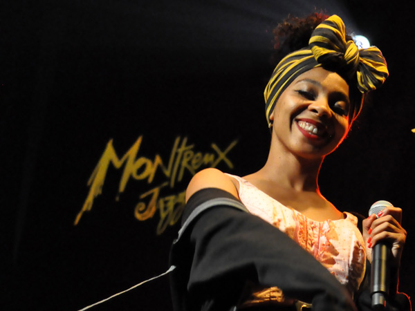 Montreux Jazz Festival 2013: Hollie Cook (UK), July 13, Montreux Jazz Lab.