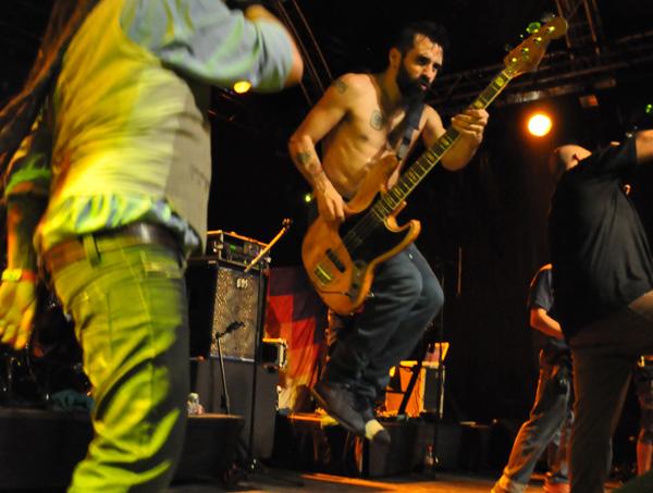 Montreux Jazz Festival 2013: Karamelo Santo (Argentina), July 17, Music in the Park.
