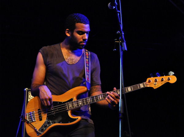 Montreux Jazz Festival 2013: Vadel (CH/USA), July 19, Music in the Park.