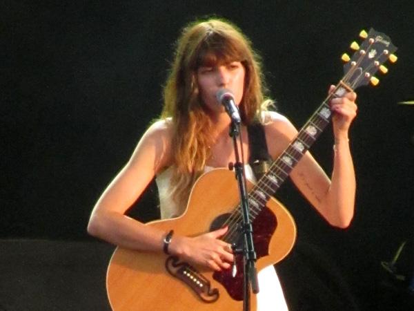 Paléo Festival 2013, Nyon: Lou Doillon, July 23, Scène des Arches.
