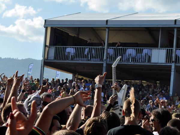Paléo Festival 2013, Nyon: Mass Hysteria, July 24, Scène des Arches.