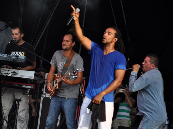 Paléo Festival 2013, Nyon: Dub Inc., July 25, Grande Scène.