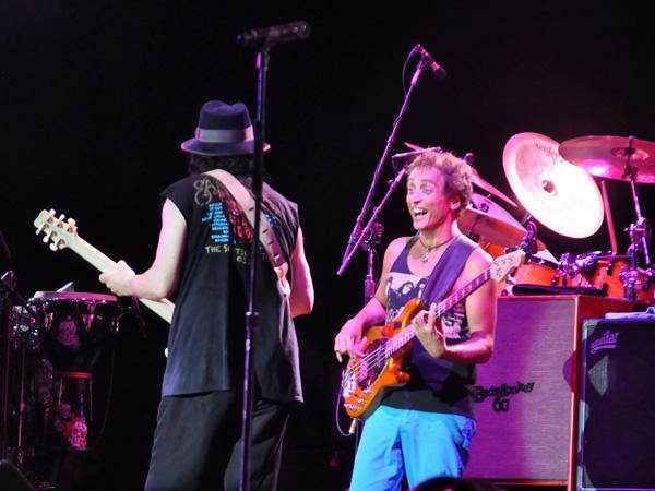 Paléo Festival 2013, Nyon: Santana, July 25, Grande Scène.