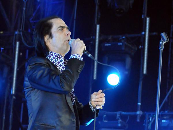 Paléo Festival 2013, Nyon: Nick Cave & the Bad Seeds, July 26, Grande Scène.