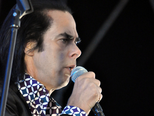Paléo Festival 2013, Nyon: Nick Cave & the Bad Seeds, July 26, Grande Scène.