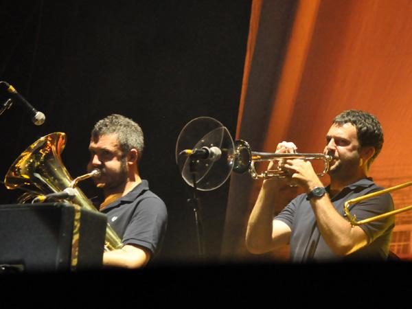 Paléo Festival 2013, Nyon: Blur, July 27, Grande Scène.