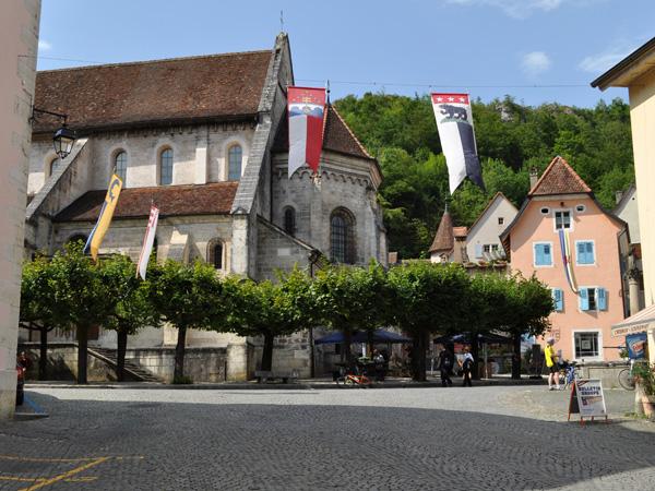 Saint-Ursanne, Canton du Jura, août 2013.
