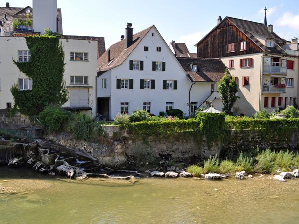 Laufen (Laufon), Northern Switzerland, August 2013.