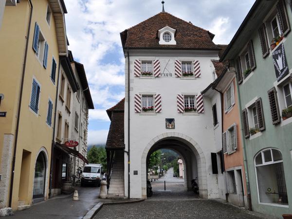 Delémont, Canton du Jura, août 2013.