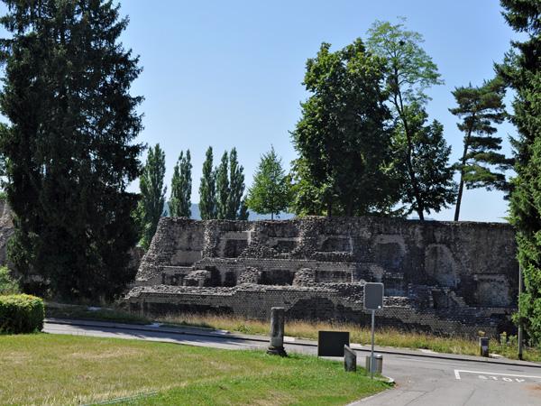 Augusta Raurica (Augst), Northern Switzerland, August 2013.