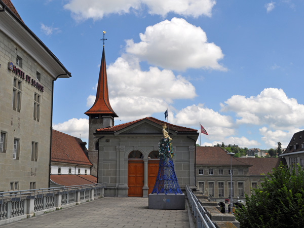Fribourg (Freiburg), August 2013.
