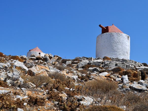 Chora, Amorgos (Cyclades), août 2013.
