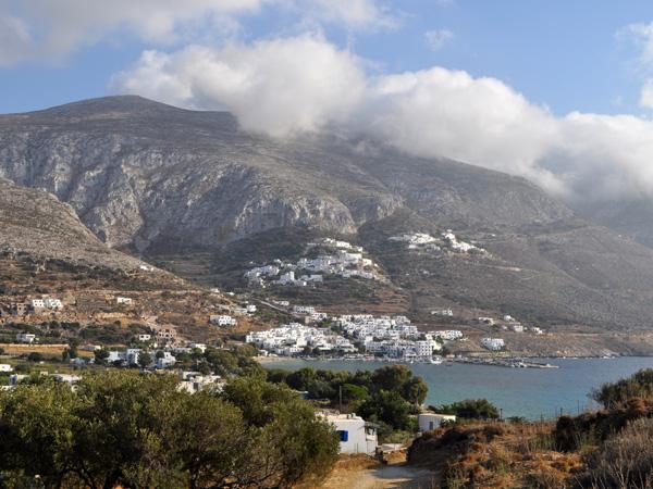 Eghiali, Amorgos (Cyclades), août 2013.