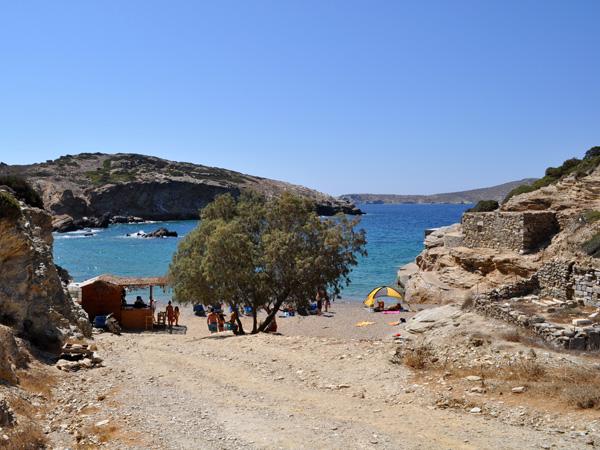 Paradisa Bay, Amorgos (Cyclades), août 2013.