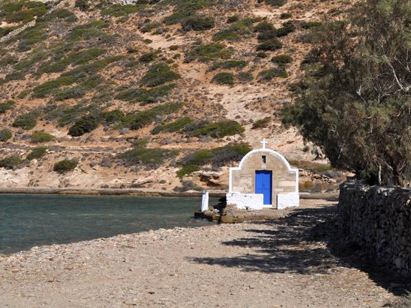 Kato Kambos Bay, Amorgos (Cyclades), août 2013.