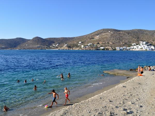 Katapola Bay, Amorgos (Cyclades), août 2013.