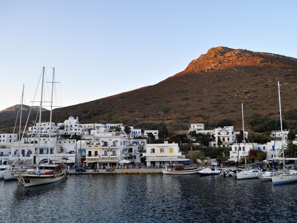 Katapola, Amorgos (Cyclades), août 2013.