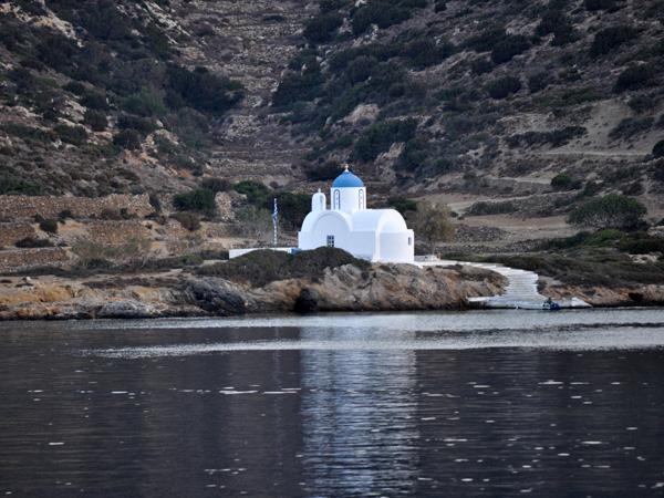 Comme partout en Grèce, monastères, églises et chapelles sont légion. A ne pas rater: le Monastère de la Panaghia Chozoviotissa, accroché sur une falaise près de Chora, et la vertigineuse chapelle d'Aghia Triadha, à Lagadha.