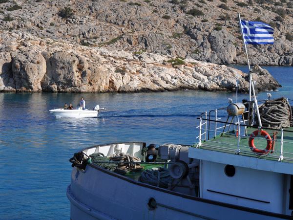 Iraklia (Petites Cyclades), août 2013.