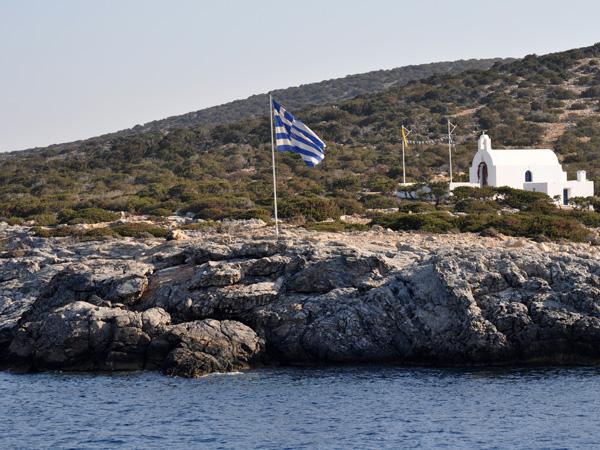 Schinoussa (Petites Cyclades), août 2013.